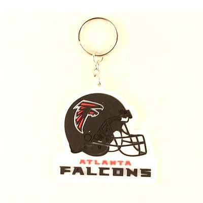 Atlanta Falcons Helmet Keyring, Rubber