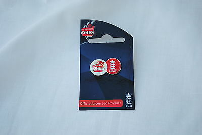 NPower 2009 Ashes Series 2 Ball Collectors Pin x 10 pack