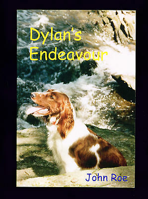 SIGNED Dog Book Welsh Springer Spaniel Story Dylans Endeavour by John Roe SCARCE