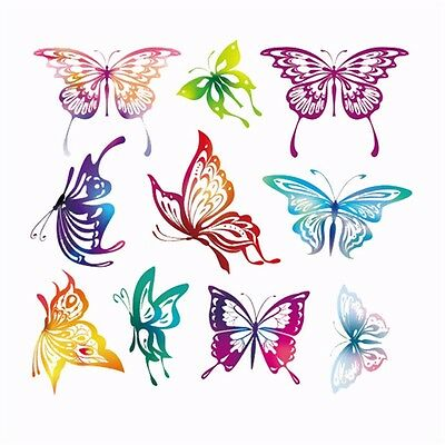 Heat Transfer Butterfly Patch Iron On Patches For Cloth DIY Decoration Printing