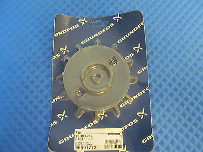 NOS Grundfos Fan (12 Blades) D124/11.5 96591772 Buy it now = 1 pc Free Shipping