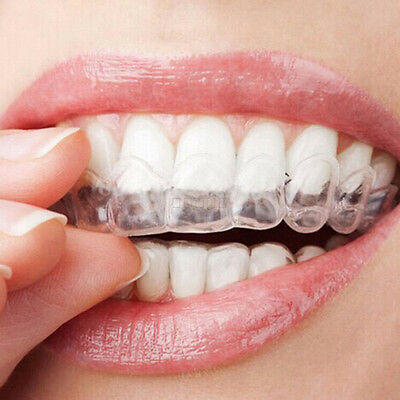 KQ_ Thermoform Moldable Mouth Teeth Dental Trays Tooth Whitening Guard Whitener