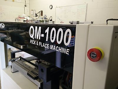 Lightly used QM 1000 Pick and Place Machine