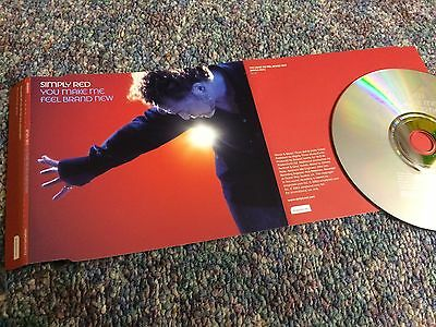 Simply Red You Make Me Feel Brand New Cd Single Promo From Collection