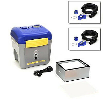 Hakko FA430 Fume Extractor with (2) TWO  C1571 Exhaust Arms Kit *SPECIAL BUNDLE*