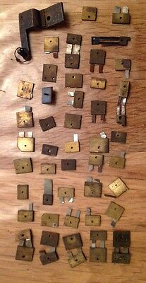 Antique Vintage Clock Suspension Hanger Parts Ex Clockmakers Spares Chest