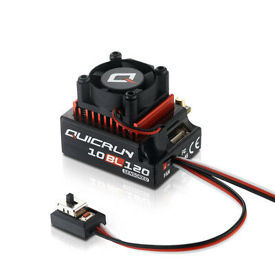 Hobbywing QuicRun Regler 10BL120 Brushless 120A Sensored 1/10 HW30125000