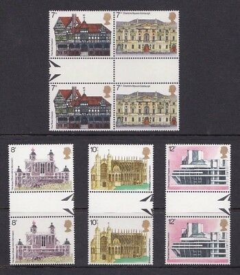 1975 European Architectural Heritage Year NHM  - Gutter Pairs