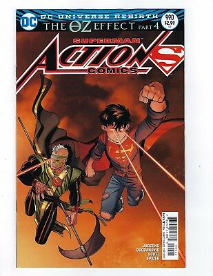 Action Comics Rebirth # 990 Regular Cover 2nd Printing NM DC