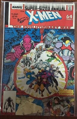 X-Men Annual #12 (1988, Marvel) Signed By Arthur Adams With COA