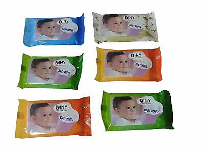 24 packs Baby Wipes Travel 10 count for on the Go Moms Purse Size