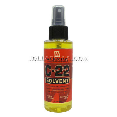 Walker Tape C-22 Solvent Weave Wig Bond Remover Adhesive Cleanser Spray 4oz