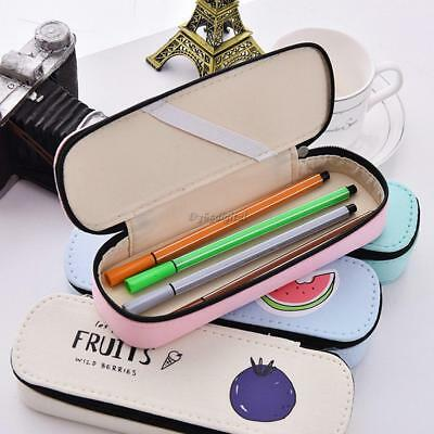 Fashion Girls Cute Hard Shell Pen Pencil Case Holder Pouch Stationery Bag Box 35