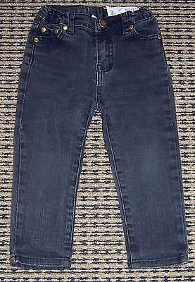 Ouch Unisex Black Skinny Jeans Sz 2