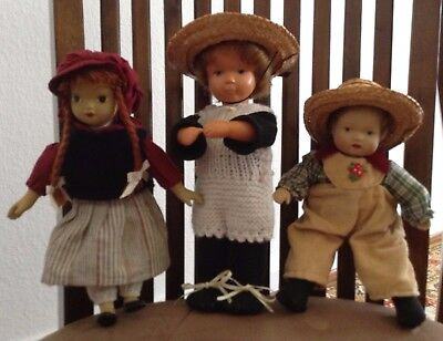 Authentic/Vintage 1962 Goebel Doll W. Germany Plus Two FREE Dolls