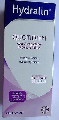 Hydralin Quotidien Gel Lavant 400Ml