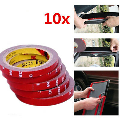 10X Car Truck Car Acrylic Foam Double Side Tape Adhesive 3m x 10mm Must Haves
