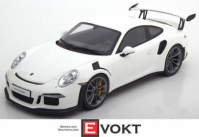 GT Spirit Porsche 911 (991) GT3 RS White ZM106 Model Car 1:18 Genuine New