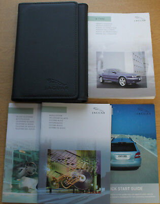 jaguar x type owners manual handbook wallet 2007 2009 pack. Black Bedroom Furniture Sets. Home Design Ideas