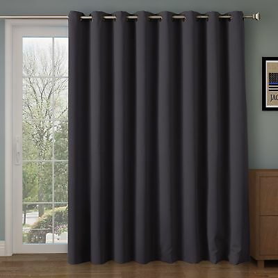 Eclipse Thermal Blackout Patio Door Curtain Panel 5264 Picclick