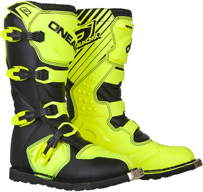 O'Neal Oneal Rider Boots Offroad Motocross Black/Hi-Viz Mens All Sizes 9