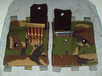 k-98 / 1903A3 / enfield/ SMLE / nagant / buttstock AMMO pouch/ british camo/ DPM