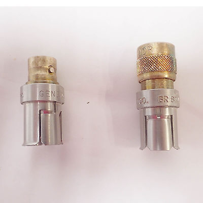 LOT OF 2 GENERAL RADIO GR874 to TYPE C  50 OHM ADAPTOR – 874-QCJA & 874-QCP