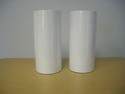 (2) Line Plain White Labels for MX-6600 10x10 Price Gun 20 Rolls 24,000 Labels