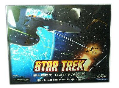 Wizkids Heroclix, Star Trek Fleet Captains, Miniatures Board Game New and Sealed
