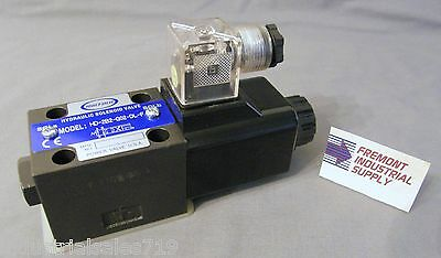 D03 hydraulic directional control solenoid valve single coil 24 volt DC