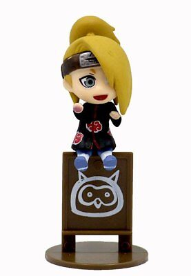 Naruto Shippuden Let's Enjoy Tea Time Figure KeyChain na0303 Deidara (no box)