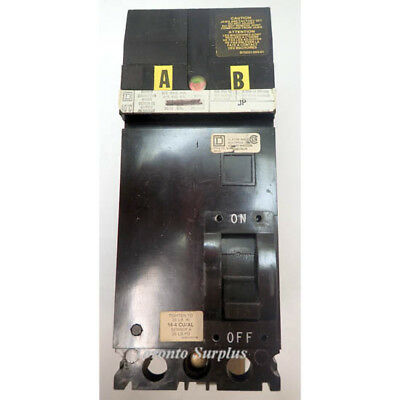 Square D Fa Series 15A Moulded Case Circuit Breaker 2 Pole