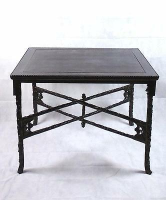 19th C Qing Dynasty Huanghuali Travelling Table Folding Legs