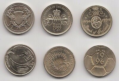 Special Edition Two Pound Coin £2 1986 1989 1994 1995 1996 - Choose your Year