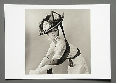 Cecil Beaton Limited Edition Photo 24x17 Audrey Hepburn My fair Lady Vogue 1963