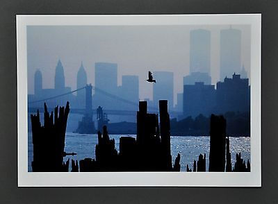 Thomas Hoepker Ltd. Ed. Photo 24x17cm Queens View of New York City Skyline 1983