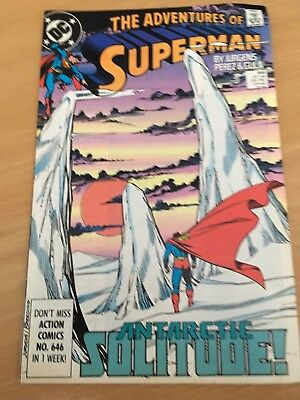 The Adventures Of Superman Comic - 459 (Dc Comics)