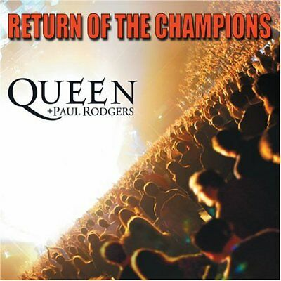 New: QUEEN + PAUL RODGERS (Bad Co.,Free) - Return of the Champions (Live) 2 CDs