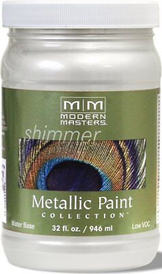 Modern Masters Metallic Paint Collection Pearl White 32 oz