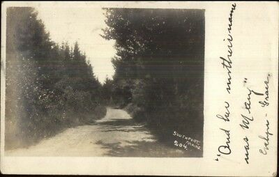 Southport ME #204 c1905 Real Photo Postcard