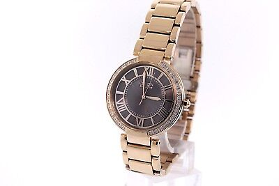 Ladies Citizen EM0103-57X Eco-Drive d'Orsay Rose Gold-Tone Diamond  Watch