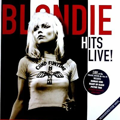 Blondie-Hits Live! LP (4 Nov 1978) Paradise, Boston, MA. UK issue Remastered-NEW