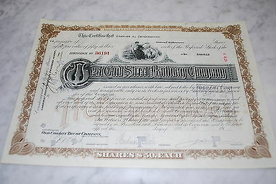 Stock Certificate - West End Street Railway Company – Massachusetts 1917