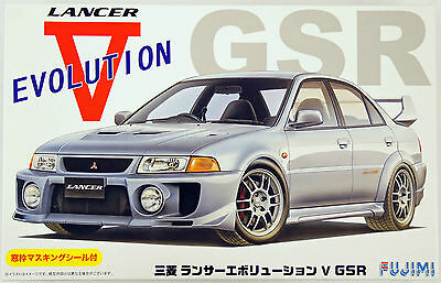 Fujimi ID-100 Mitsubishi Lancer Evolution V GSR 1/24 Scale kit