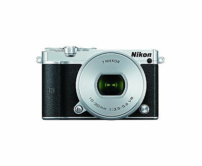 Nikon 1 J5 Mirrorless Digital Camera w/ 10-30mm PD-ZOOM Lens (Silver) ... NO TAX