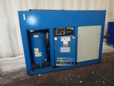 Quincy QSI 600 125 hp. Rotary Screw Air compressor, 1yr.  Airend Warranty