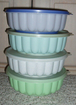 TUPPERWARE Jel Ring Jello Gelatin Dessert Ice Punch Bowl Mold~Color Choice