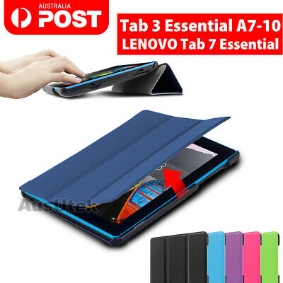 Smart Magnetic Stand Leather Case Cover for Lenovo Tab 7 3 A7-10 Tab Essential 7