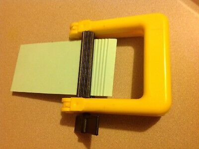 Paper Card Crimper - Make Own Corrugated Scrapbooking Card Making Craft