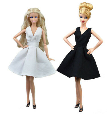 Hot 2 PCS Fashion Skirt Evening Dress Outfit Gown Clothes For 11.5in.Doll